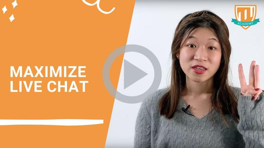 Maximize Live Chat Usage