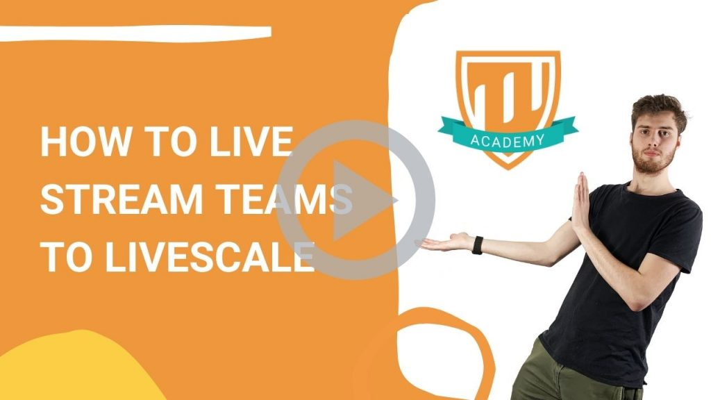Live multistream Teams Livescale TheFunnyGuy