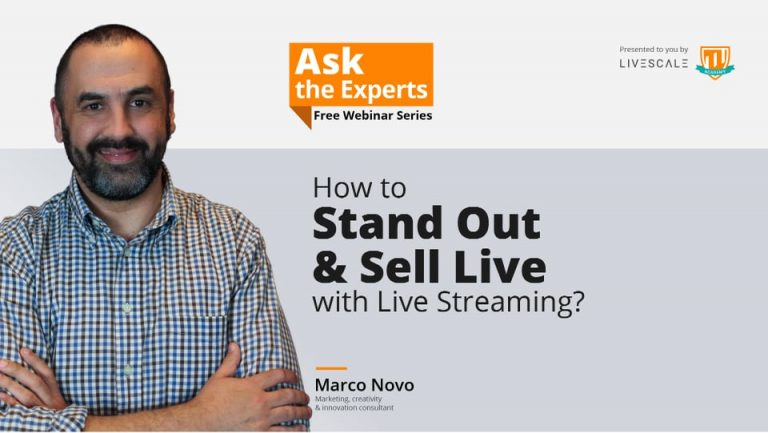 Live Shopping Webinar: How to boost sales and engagement